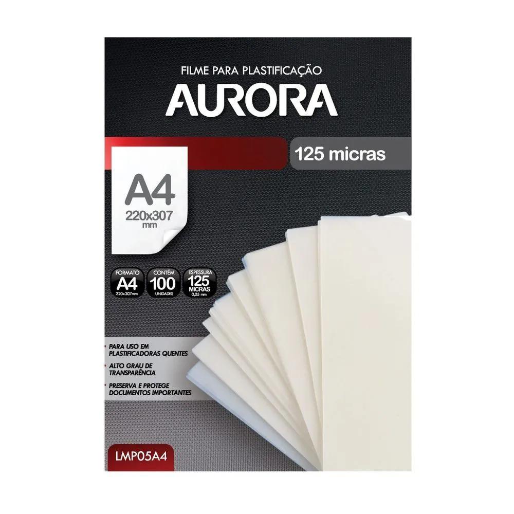 Filme para plastificação Polaseal A4 - Aurora (LMP05A4)