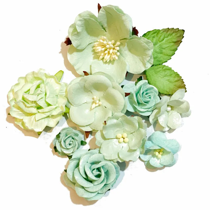 Flores Menta de Papel - Carina Sartor (FLOR04)