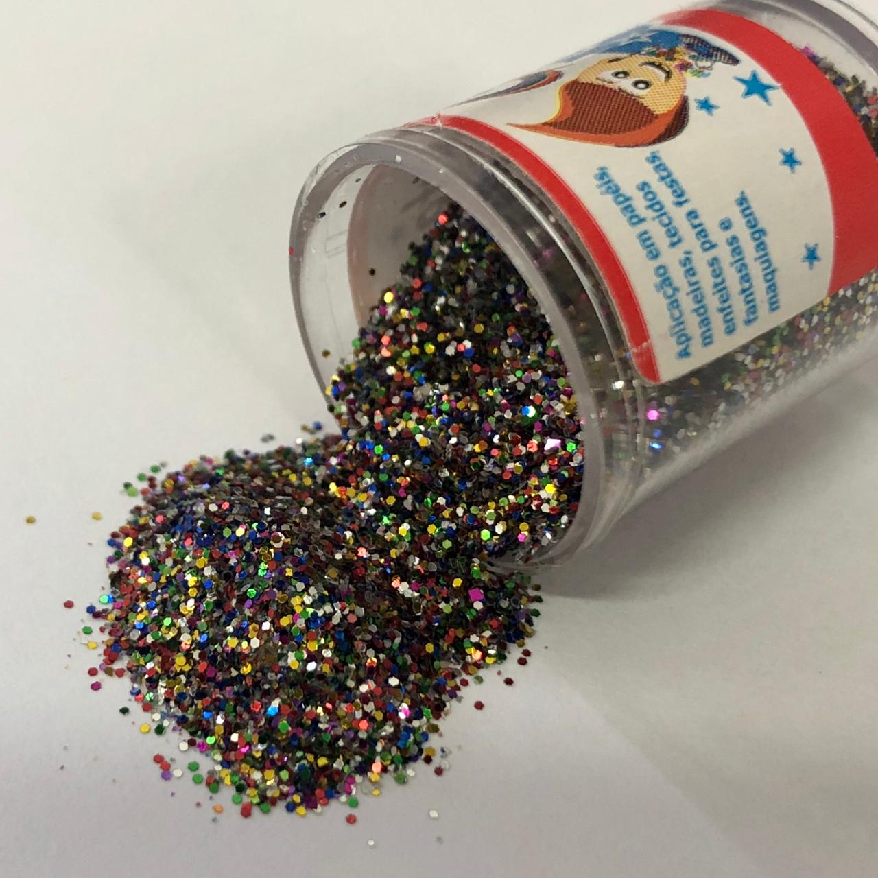 Glitter Arco-íris (GL02)