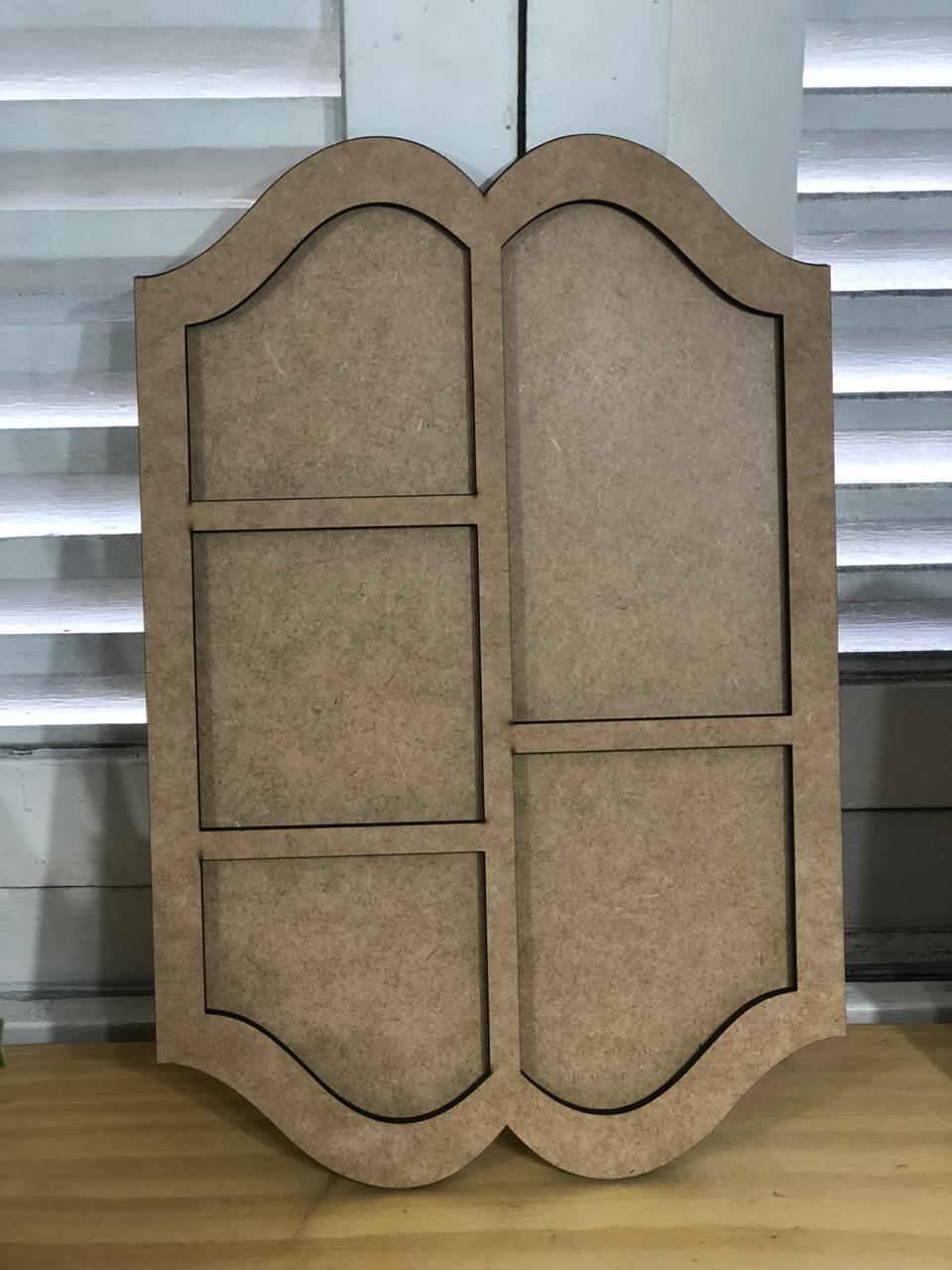 Moldura Decorativa em MDF - Arte Fácil (LR-553)