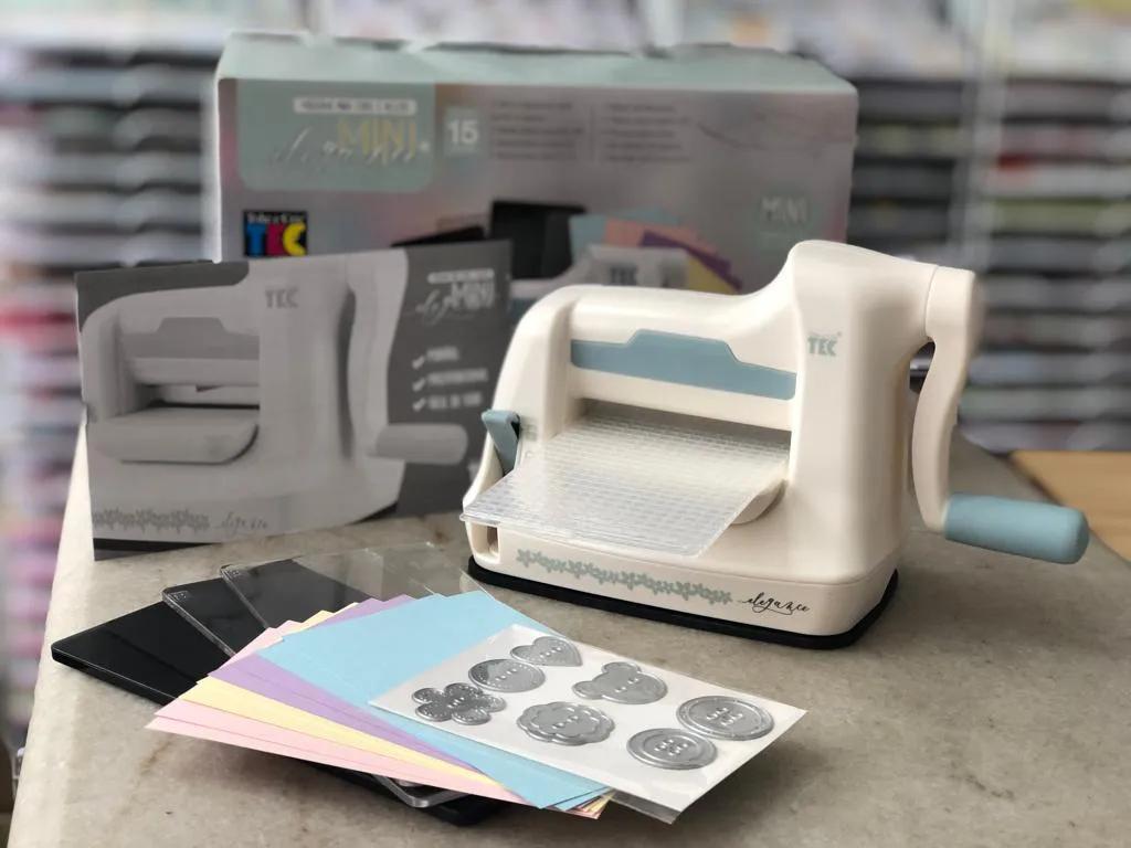 Mini Elegance - Máquina para Corte e Relevo - Toke e Crie (21798)