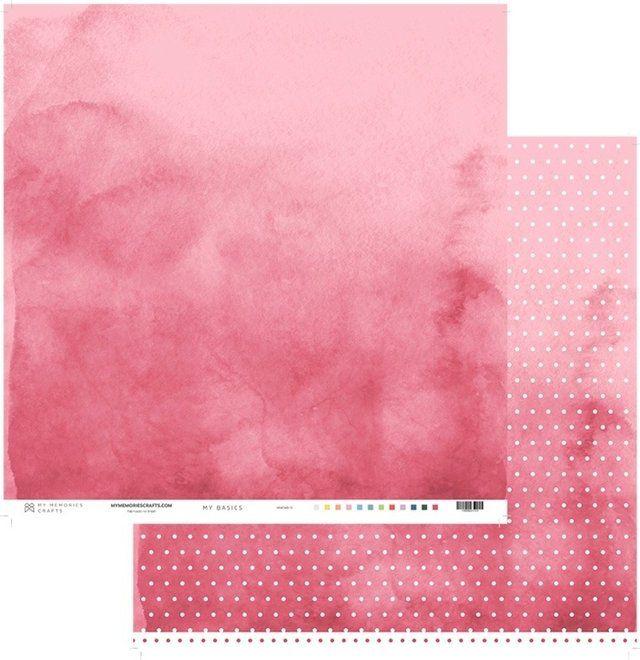 Papel Scrap - Coleção My Basics - My Memories Crafts (MMCMB-12)