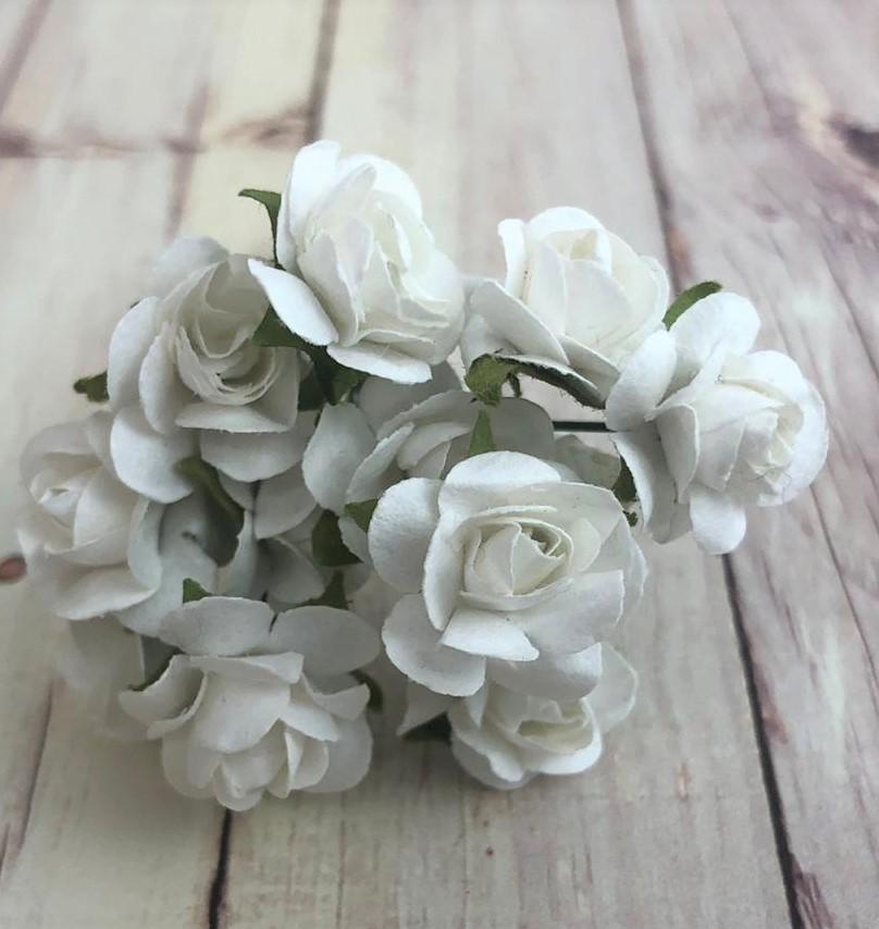Mói de flor - branco (MF-03)