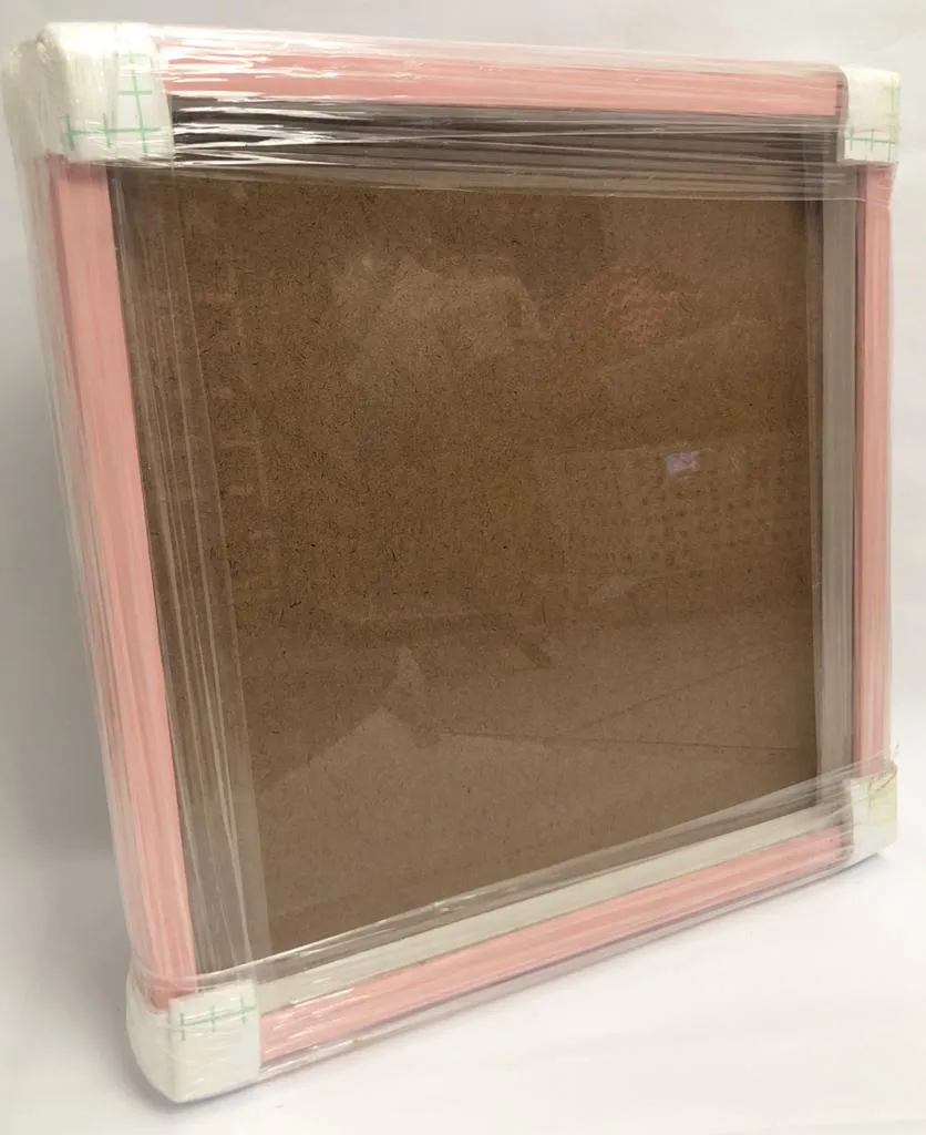 Moldura para Scrap - 30 x 30 cm - Rosa bebê (MSR002)