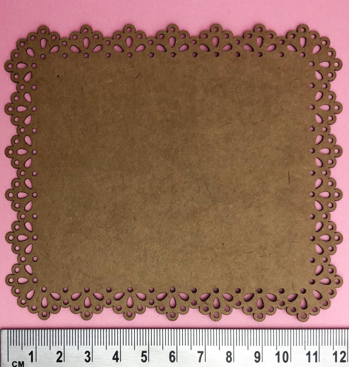 Moldura renda belle - BG Crafts (BG10)