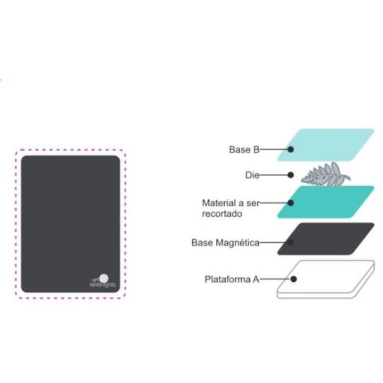 MQP04 - Base Magnética Sandwich - Art e Montagem