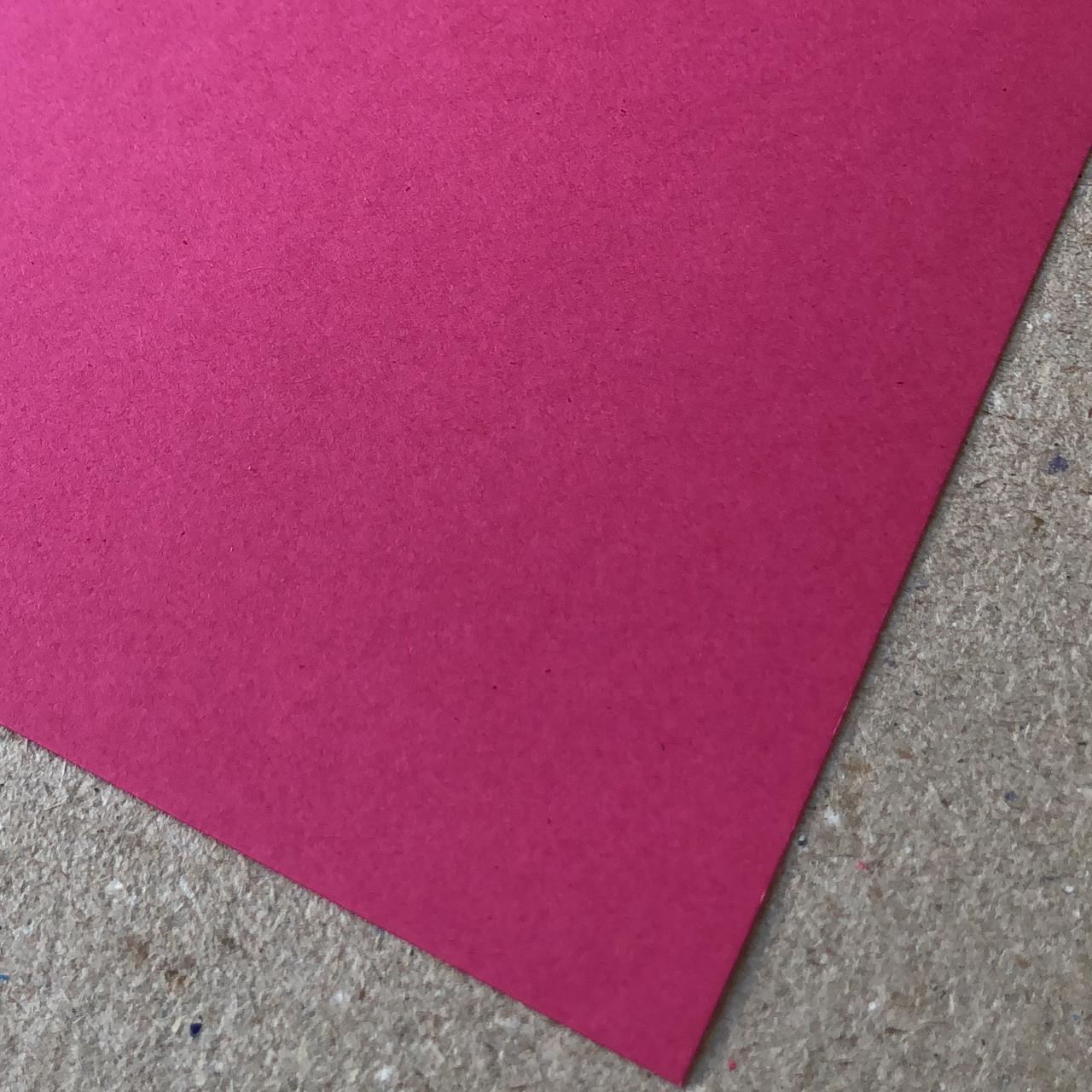Papel Color Plus - Cancun (Rosa) 180 g/m² - 30,5 x 30,5 cm