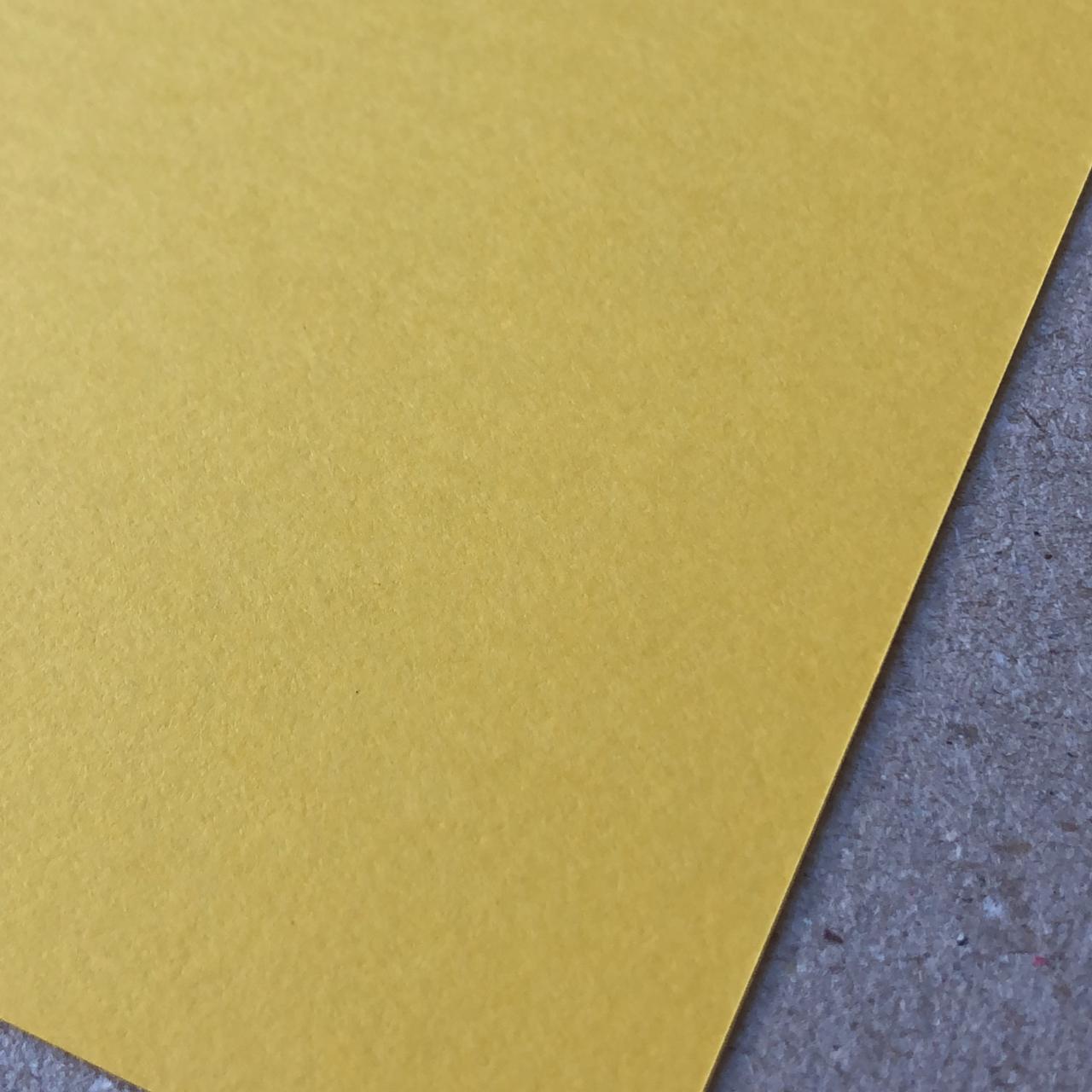 Papel Color Plus - Rio de Janeiro (Amarelo) 180 g/m² - 30,5 x 30,5 cm