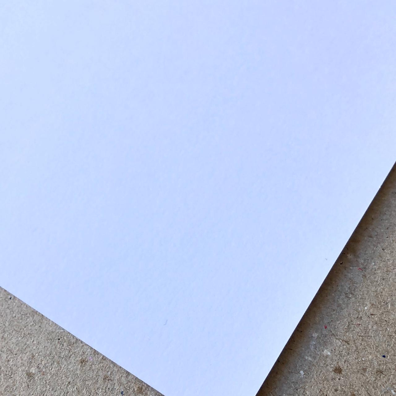 Papel Offset (Branco) 180g/m² - 30,5 x 30,5 cm (LISO-01)
