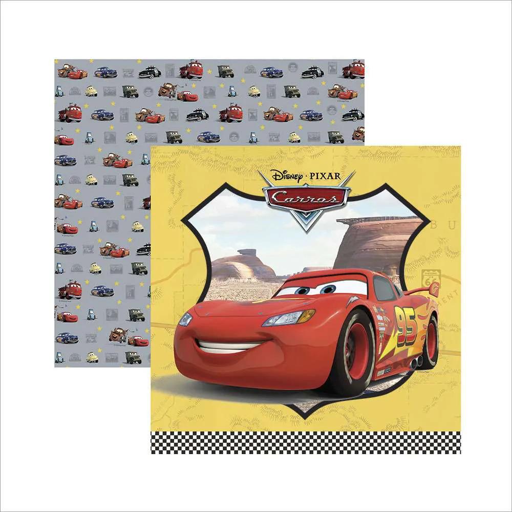 Papel Scrap - Carros 1 Guirlanda - Disney/Pixar - Toke e Crie (19695)
