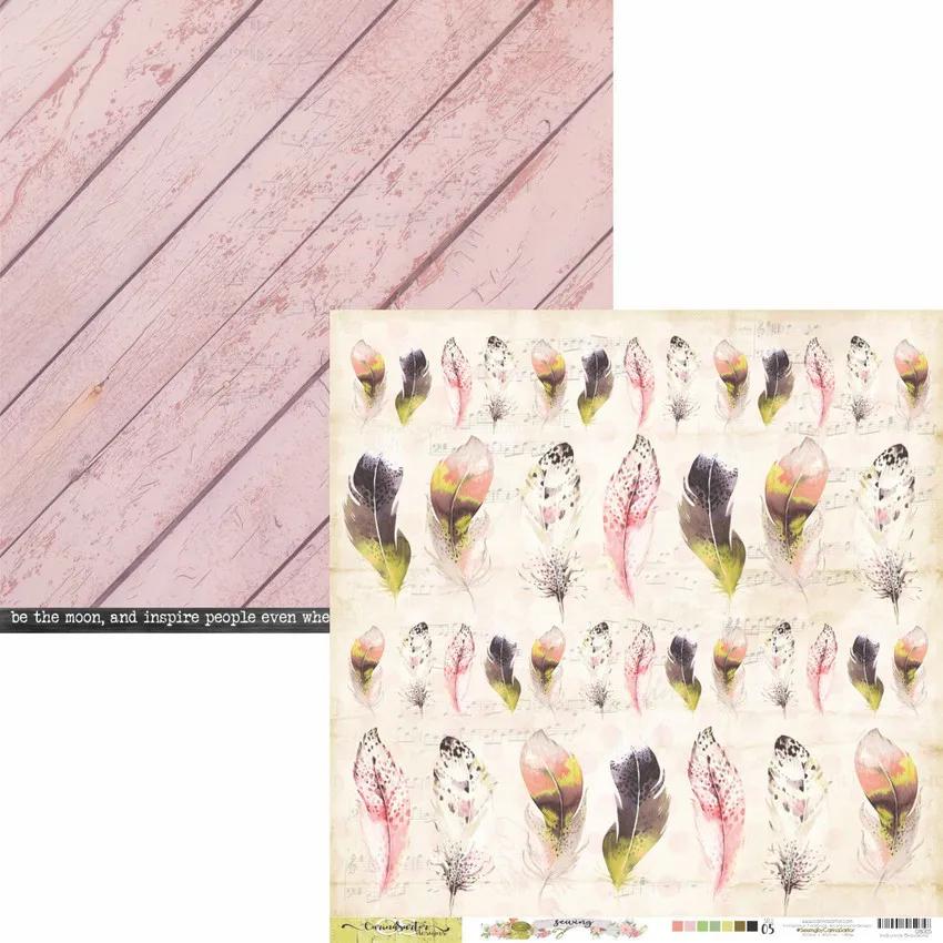 Papel Scrap - Coleção Sewing - Carina Sartor (SEW05)