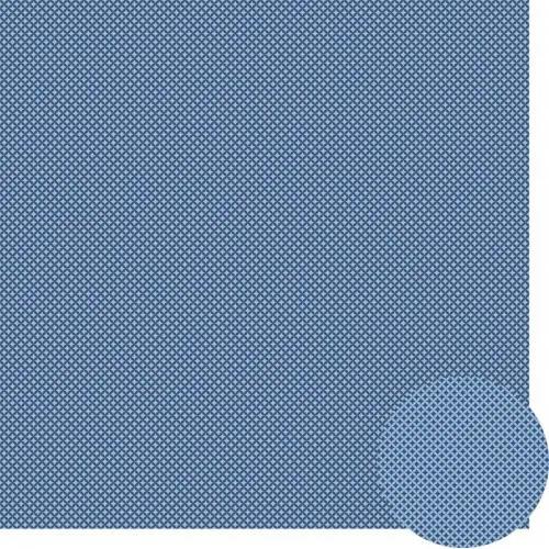 Papel Scrap - Geométrico 2 - Azul - Oficina do Papel (0176021)