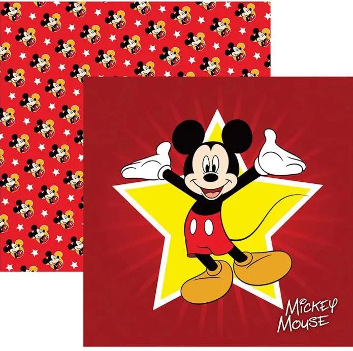 Papel Scrap - Mickey Mouse 1 Guirlanda - Disney - Toke e Crie (19305)