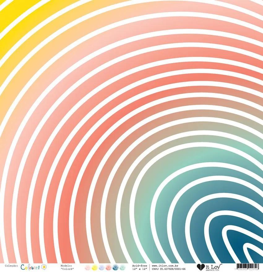 Papel Vegetal - Colorê - Coleção Celebre! - It Lov
