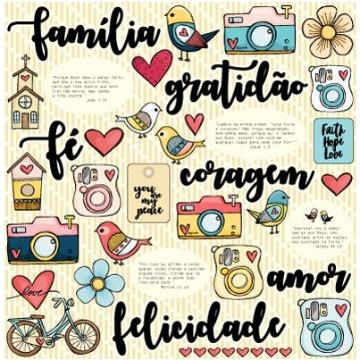 PP120 - FELICIDADE - GRATIDAO, FE E DEUS - GOODIES