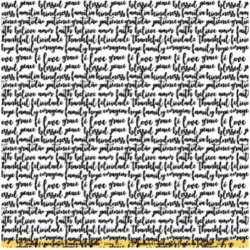 PP124 - Papel Scrap - Crença - Gratidão, Fé e Deus - Goodies