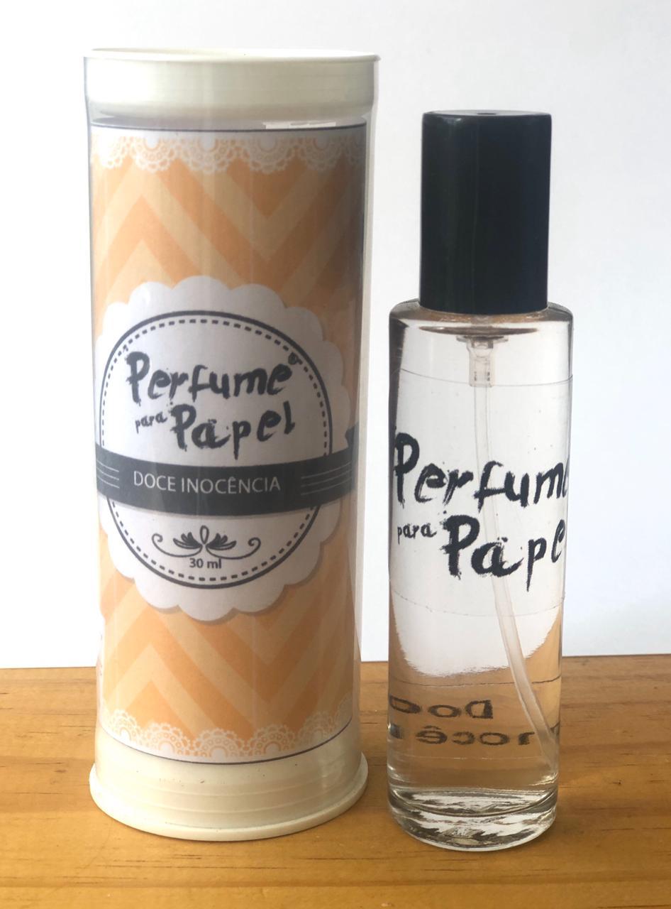 Perfume para papel - Aroma Doce Inocência (30 ml) + Latinha (PP1605)