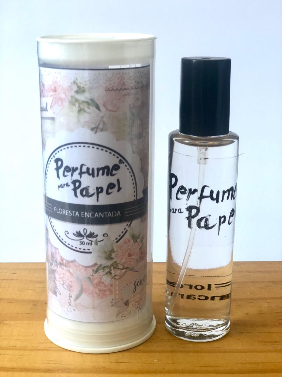 Perfume para papel - Aroma Floresta Encantada - 30 ml - Edição Especial (PP1650)