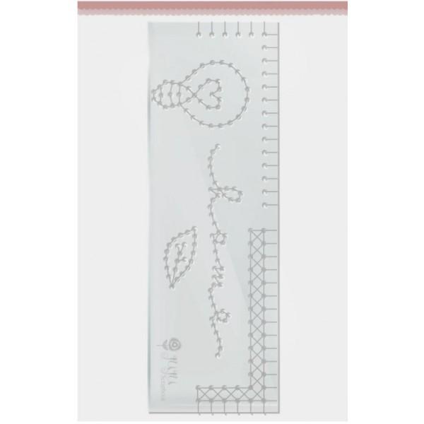 Régua de Costura - Home - Quarentena Criativa - Juju Scrapbook (10855)