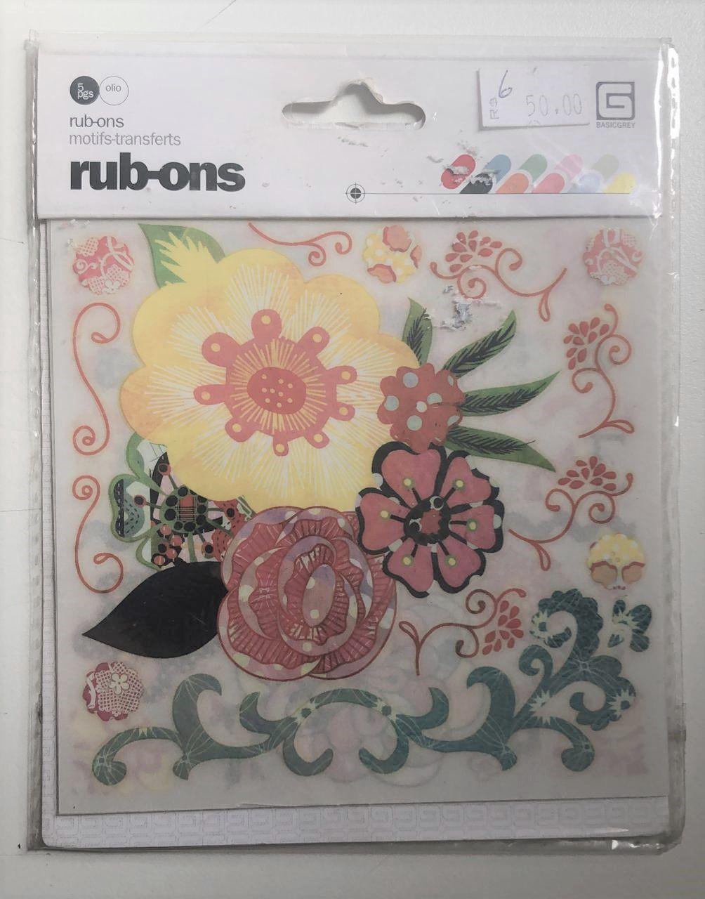 Rub-ons Summer - Basicgrey
