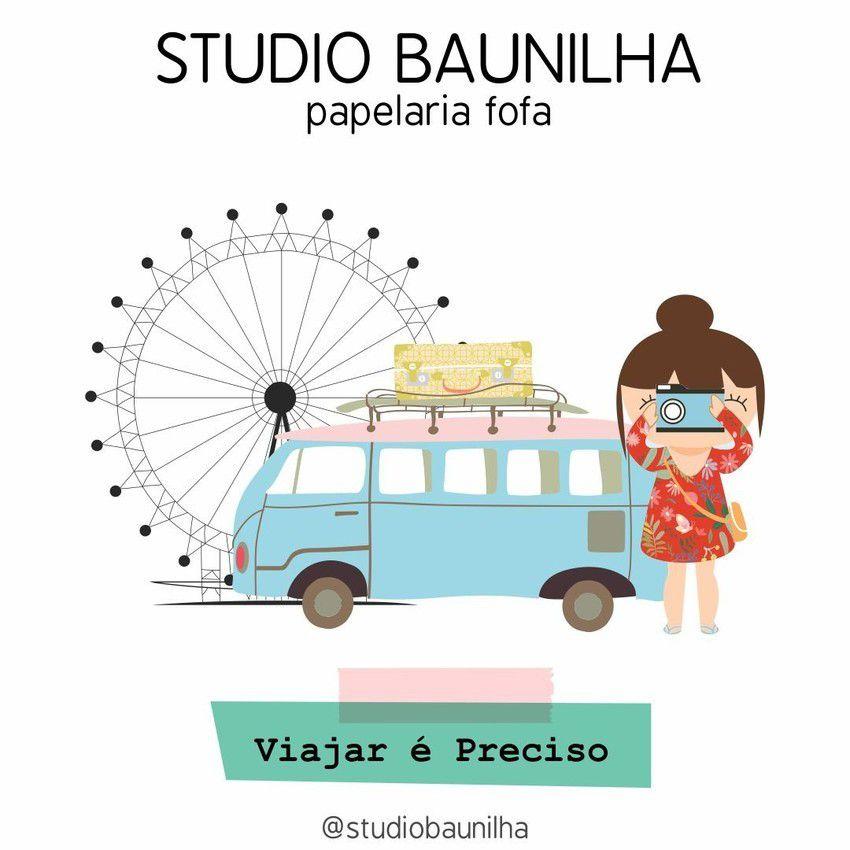 SB003 - KIT VIAJAR É PRECISO - STUDIO BAUNILHA