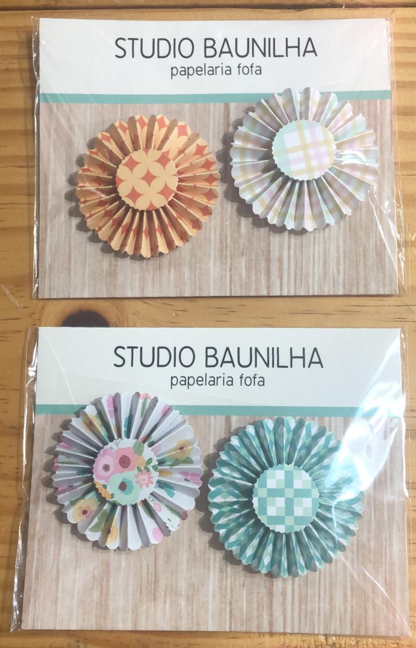 Kit Papéis e Complementos - Hello Everyday - Studio Baunilha (SB007)