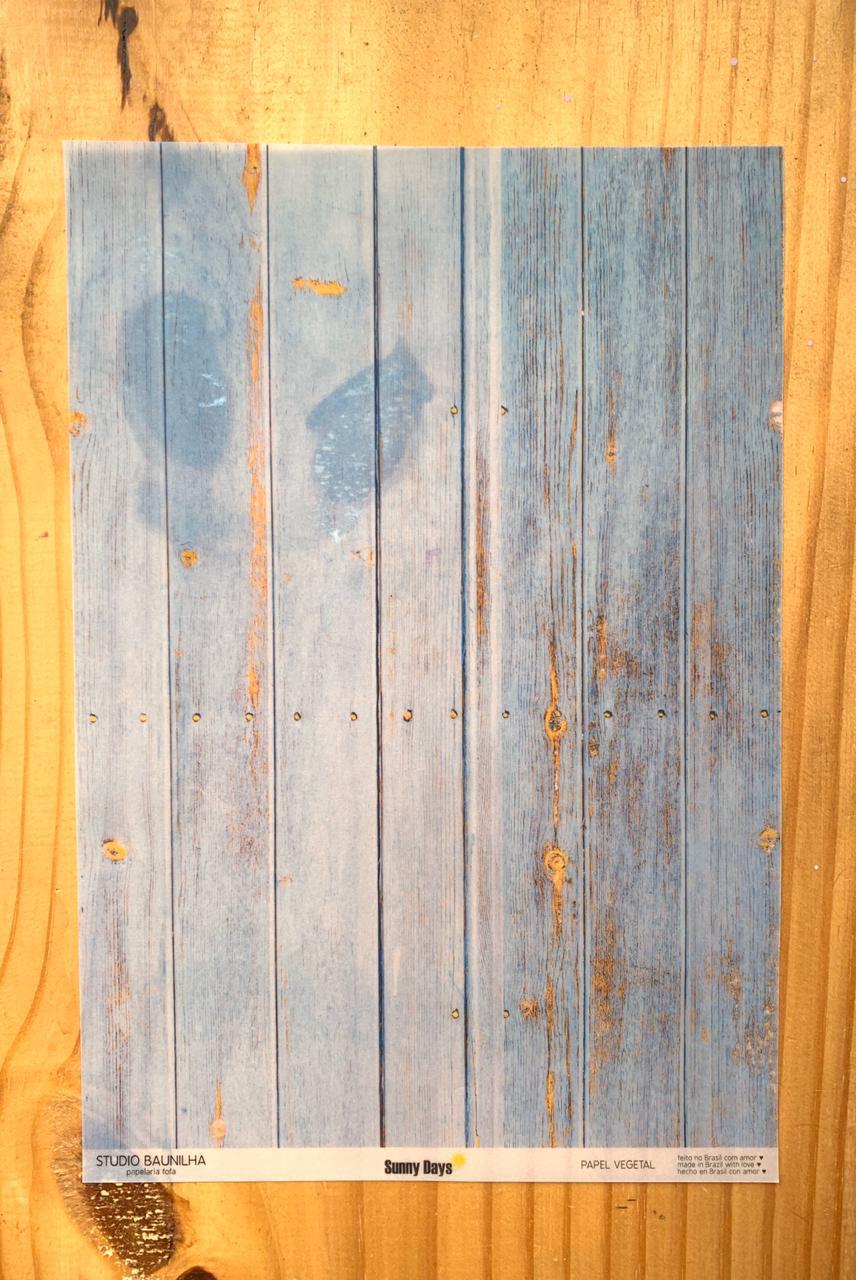 Papel Vegetal A4 - Sunny Days - Studio Baunilha (SB0096)