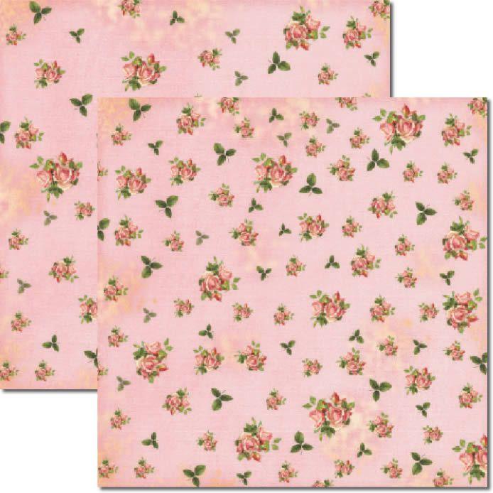 Papel scrap - Flores Miúdas 3 - Arte Fácil (SC-249)