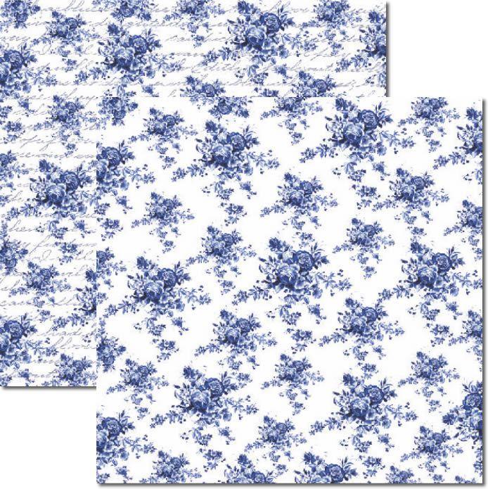 Papel scrap - Azulejo Português - Arte Fácil (SC-264)