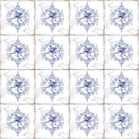 Papel scrap - Azulejo Português 2 - Arte Fácil (SC-265)