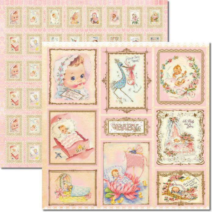 Papel Scrap - Baby Girl - Arte Fácil (SC-269)