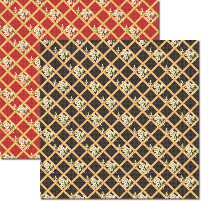 Papel scrap - Oriental - Arte Fácil (SC-330)
