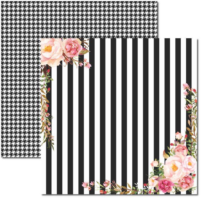 Papel Scrap - Chanel 2 - Arte Fácil (SC-396)