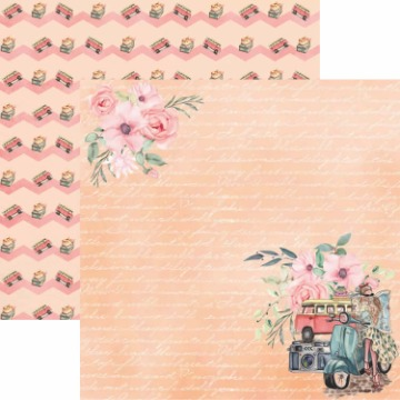 Papel Scrap - Pé na Estrada 2 - Arte Fácil (SC-409)