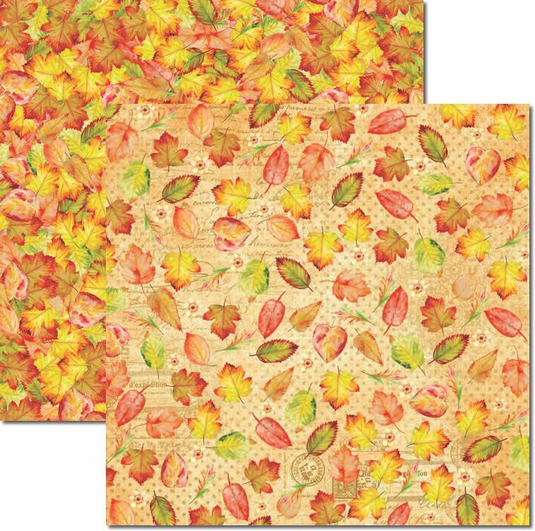 SC-434 - Papel Scrap - Outono 1 - Arte Fácil