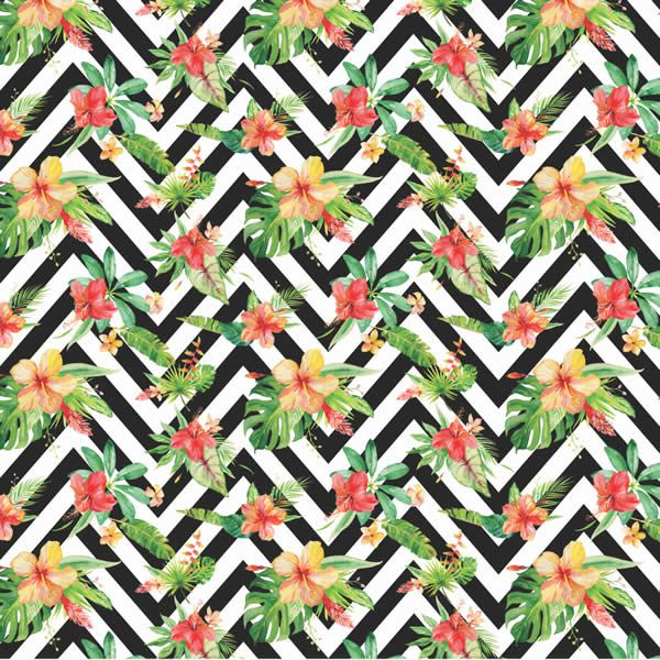 Papel Scrap - Verão Tropical 1 - Arte Fácil (SC-447)