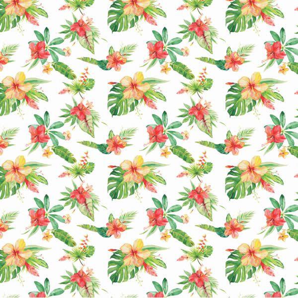 Papel Scrap - Verão Tropical 2 - Arte Fácil (SC-448)