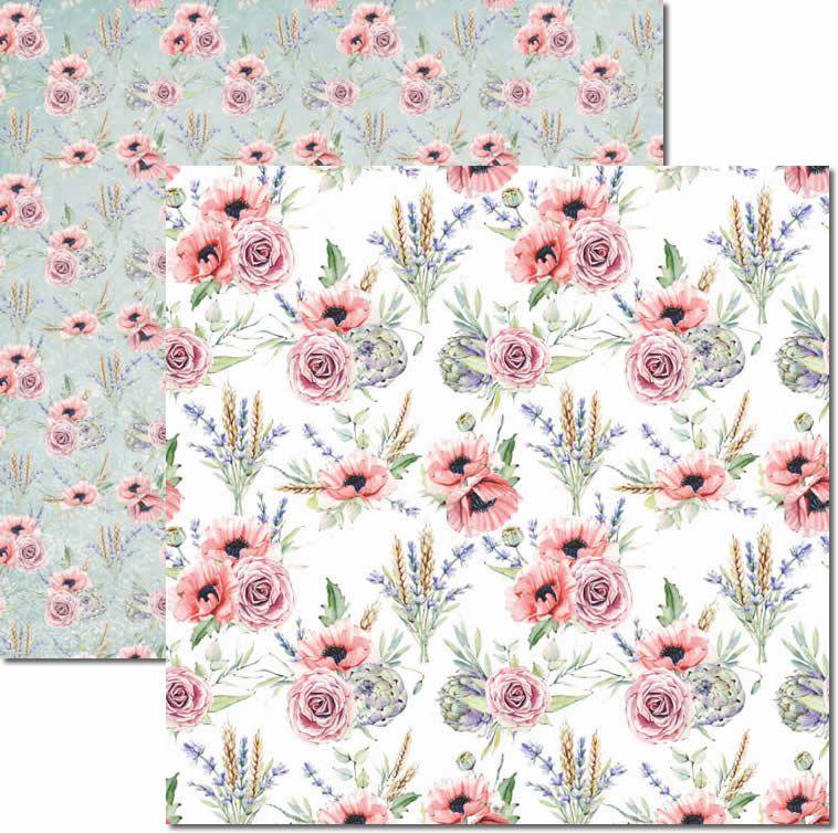 Papel Scrap - Bouquet 5 - Arte Fácil (SC-452)