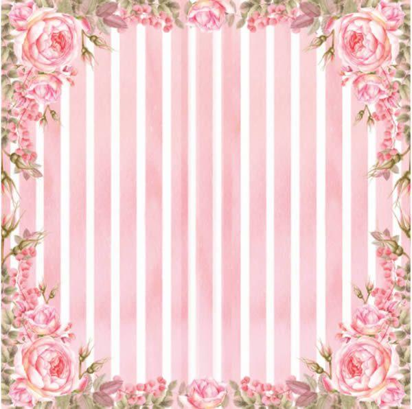 Papel Scrap - Rose e Mint 4 - Arte Fácil (SC-470)
