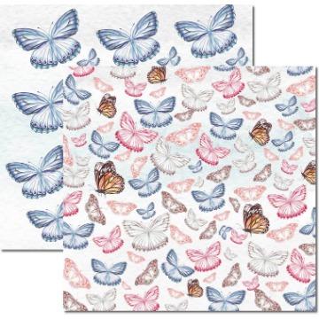 SC-529 - Papel Scrap - Butterfly 1 - Arte Fácil