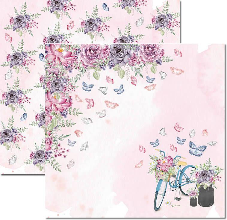 SC-530 - Papel Scrap - Butterfly 2 - Arte Fácil