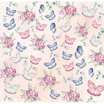 Papel Scrap - Butterfly 5 - Arte Fácil (SC-533)