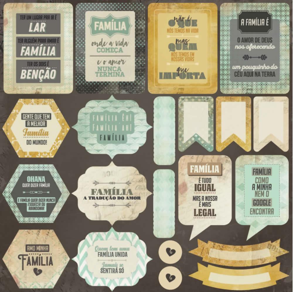 Adesivos Família - Arte Fácil (SC-908)