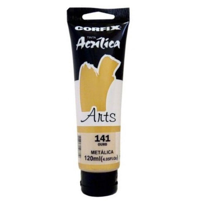 Tinta Acrílica Arts Ouro Metálica - Corfix (85121-2)