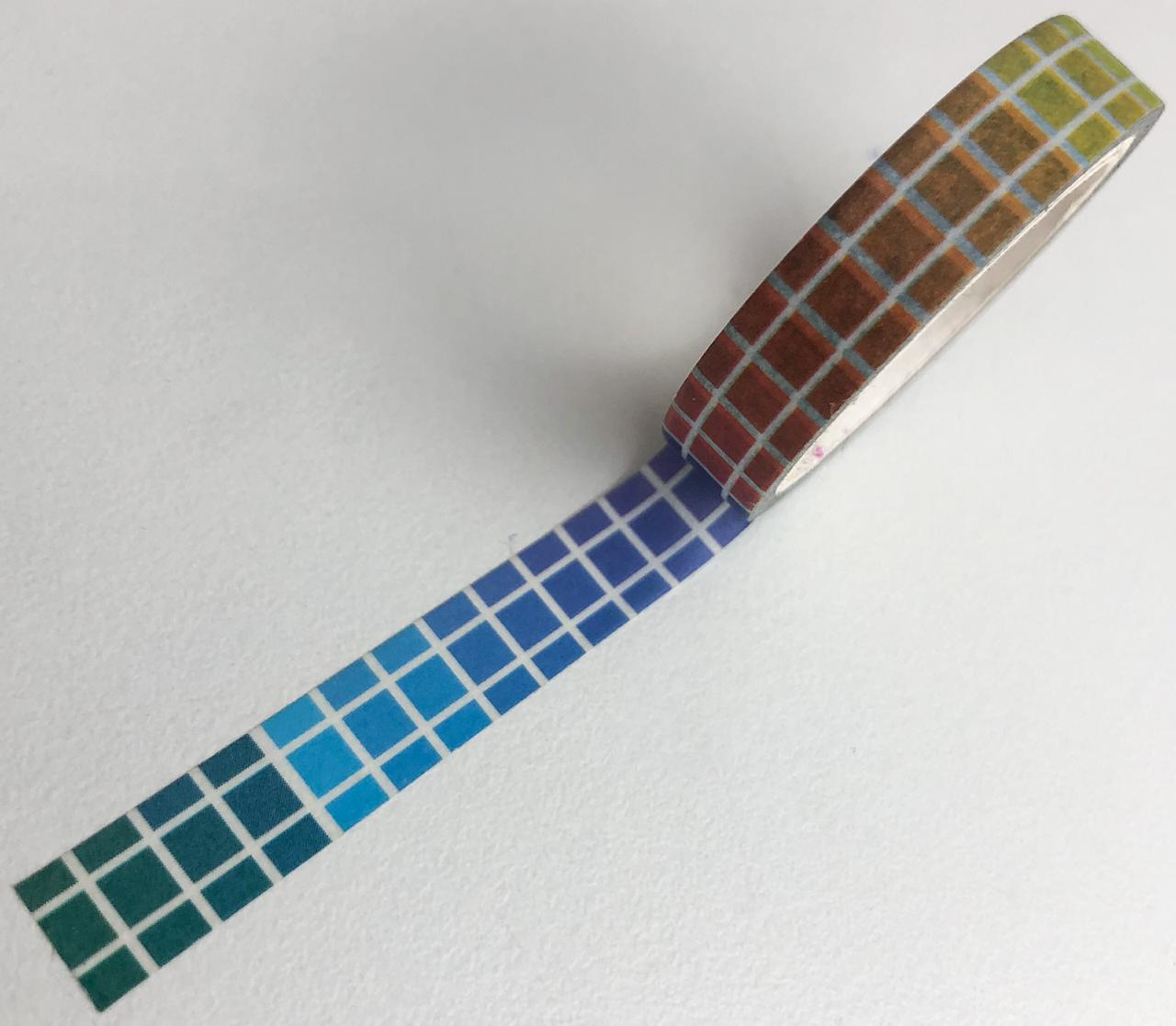 Washi Tape Ladrilhos coloridos (washi57)