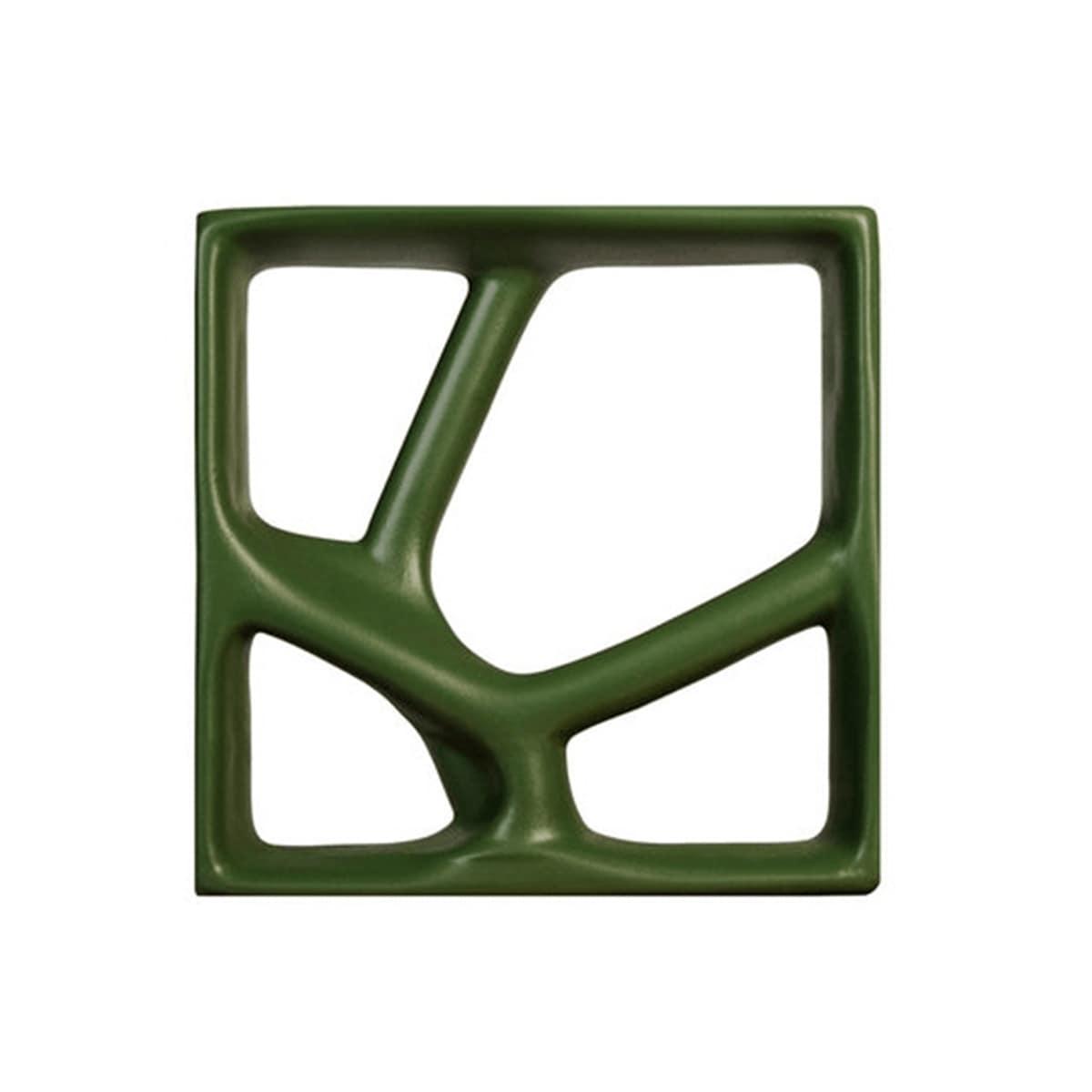 Cobogó Rizoma Peça A - Esmaltado - 29,5x29,5cm