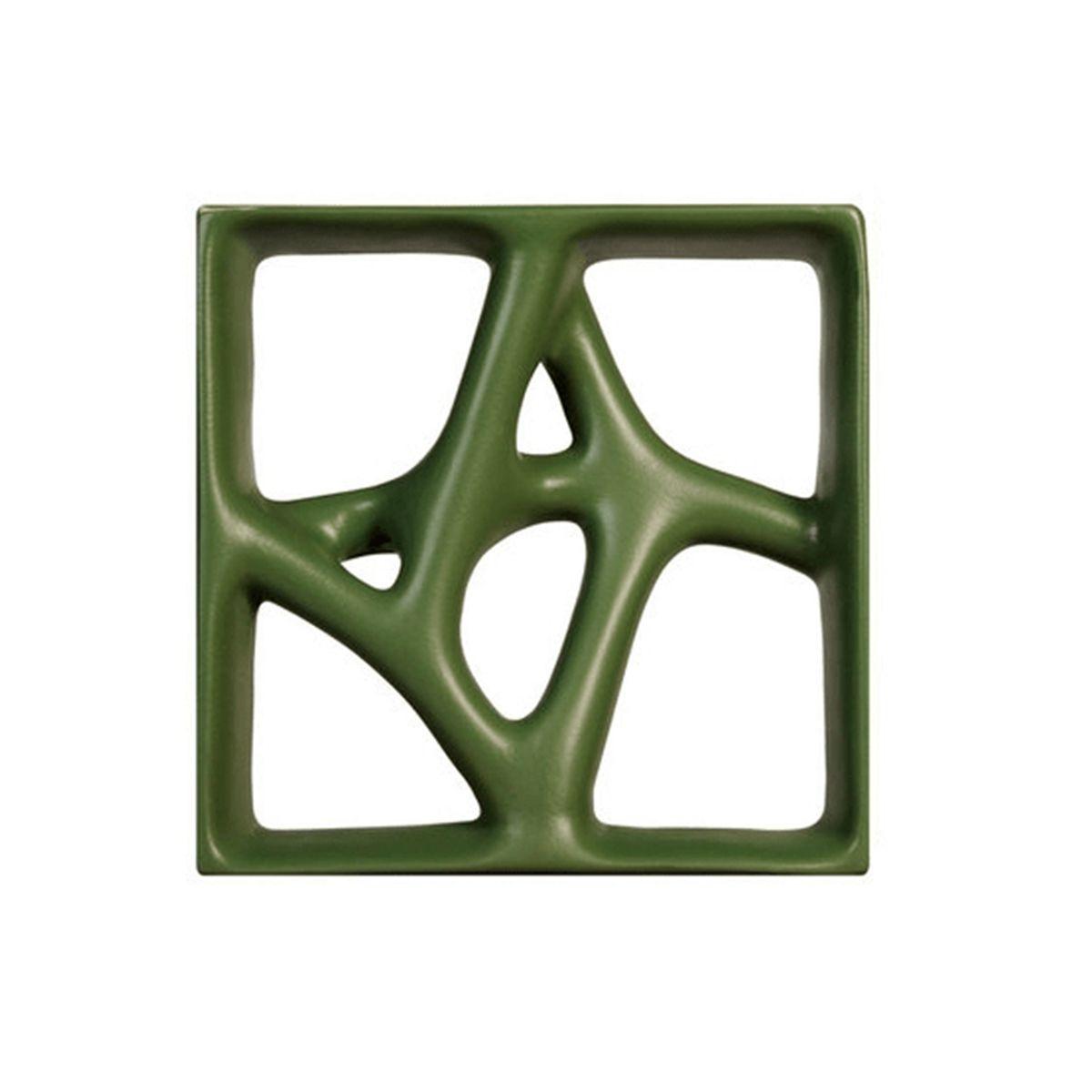 Cobogó Rizoma Peça B - Esmaltado - 29,5x29,5cm