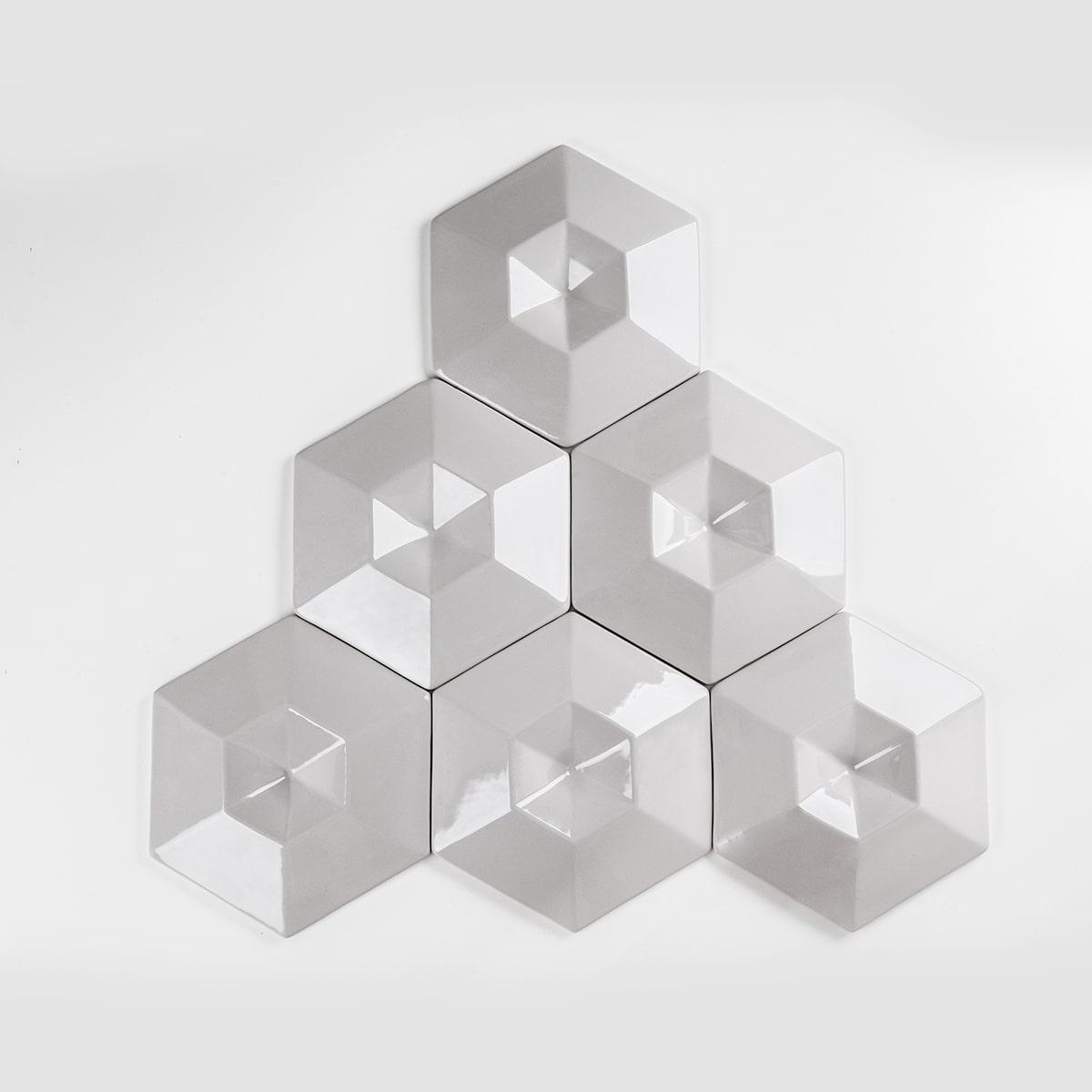 Cristal Alto Relevo - Revestimento Cerâmico - (Caixa com 0,50m)