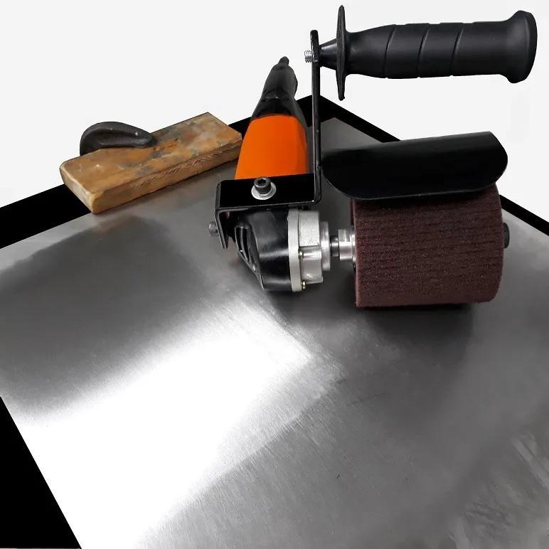 Eixo Adaptador 19mm Para Rodas De Polimento Do Inox