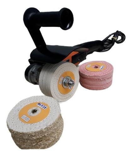 Eixo Adaptador 1/2 Para Rodas De Polimento Do Inox